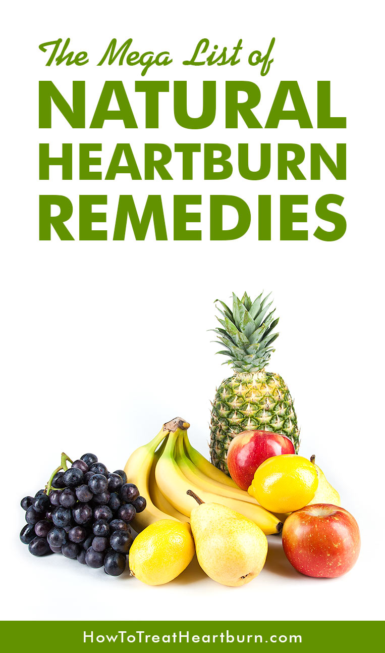 17 Natural Remedies for Heartburn