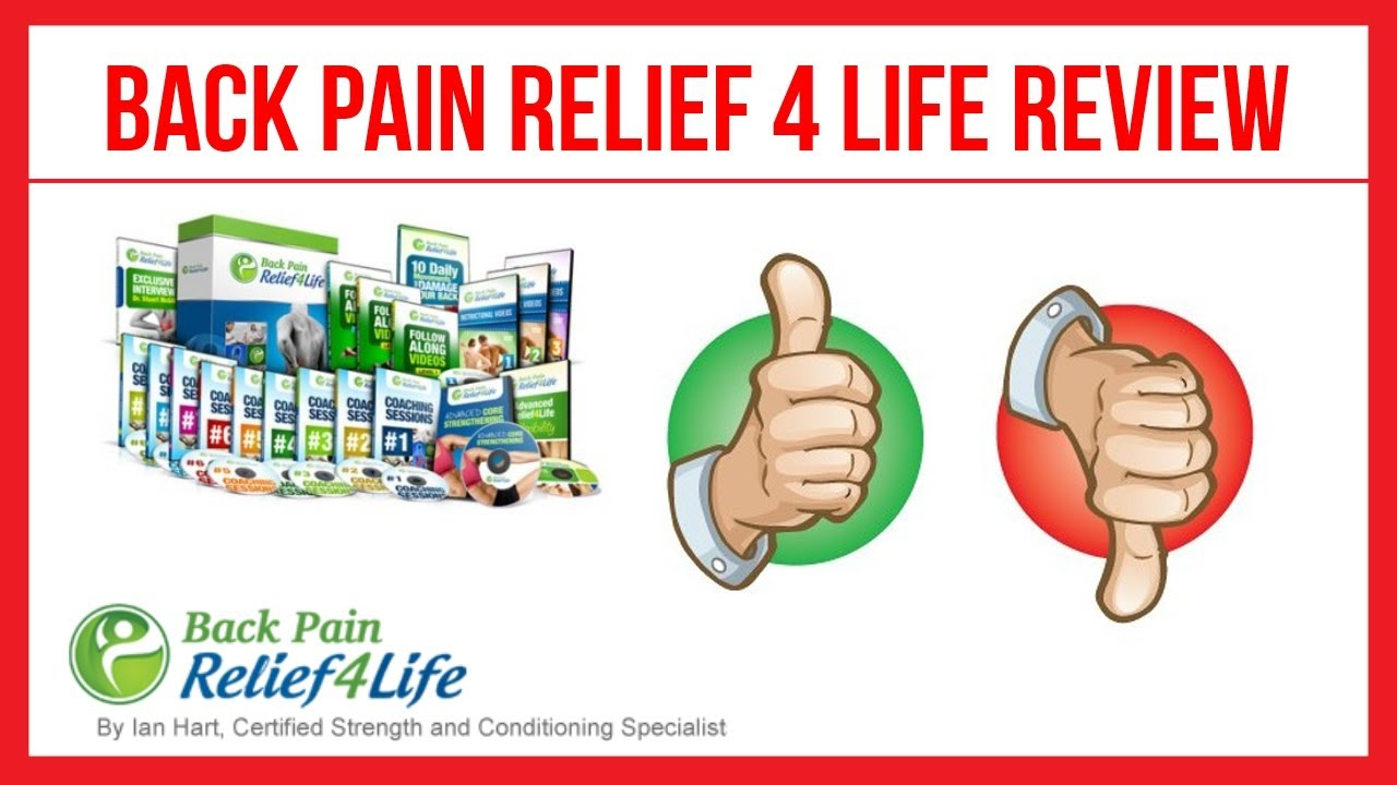 back pain relief 4 life by Ian hart